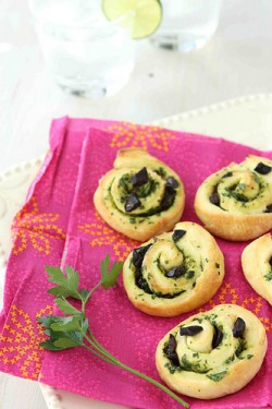 Savory Rolls with Olives