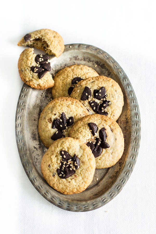 Sesame Chocolate Cookies Recipe