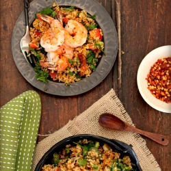 Shrimp Tabbouleh Salad