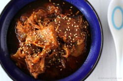 Slow Cooker Kimchi Stew with Beef Recipe