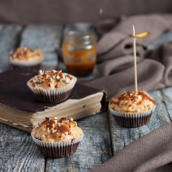 Snickers Cupcakes Recipe