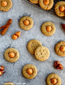 Spiced Pumpkin Kiss Cookies
