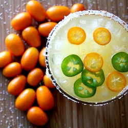 Spicy Kumquat Jalapeno Margarita Recipe