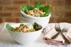 Spinach Celeriac Apple Salad