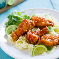 Sriracha Honey Buffalo Wings