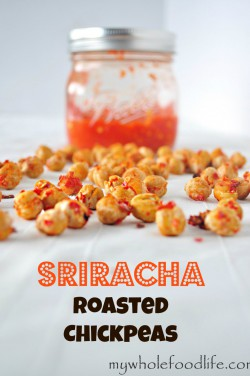 Sriracha Roasted Chickpeas Recipe
