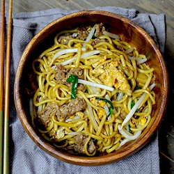 Stirfry Beef Noodle