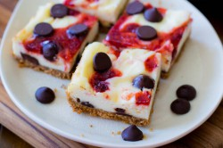 Strawberry Chocolate Chip Bars