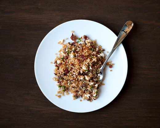 Sun-Dried Tomato Olive Couscous Recipe