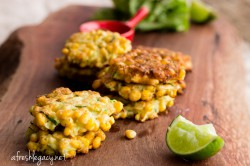 Sweet Corn and Zucchini Fritters Recipe