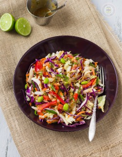 Thai Salad with Peanut Lime Dressing Recipe