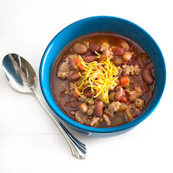 Three Bean Chili Recipe