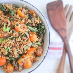 Three Grain Kale