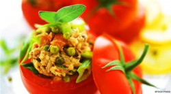 Tomatoes Stuffed with Tuna Recipe