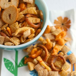 Trash Bag Snack Mix
