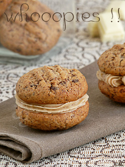 Triple Chocolate Whoopies