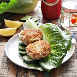 Tuna Pea and Potato Patties Recipe