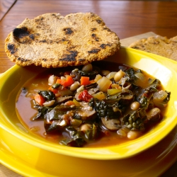 Tuscan Kale White Bean Soup Recipe