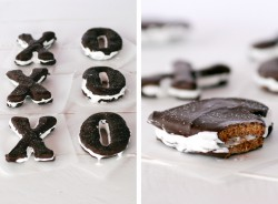 Valentine XO Shaped Smores Recipe
