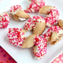 Valentines Day Fortune Cookies Recipe