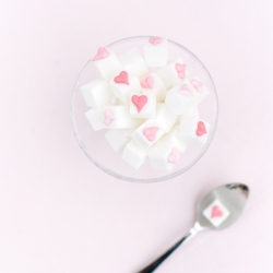 Valentines Day Sugar Cubes