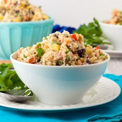 Vegan Creamy Ranch Quinoa Salad