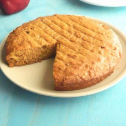 Vegan Jaggery Apple Cake