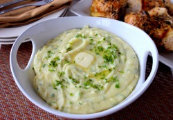 Whipped Potatoes with White Cheddar and Chives Recipe