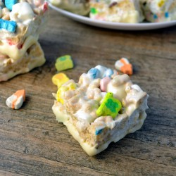 White Chocolate Lucky Charm Bars