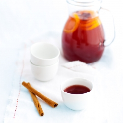 White Wine and Cranberry Warmer