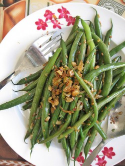 Wok-Fry Four Seasons String Beans