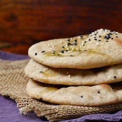 Yeasted Pita Bread Recipe