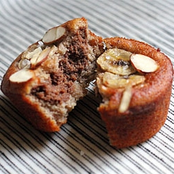 Almond Meal Banana Muffins