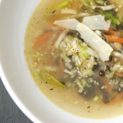 Almost-Instant Vegetable Bean Soup