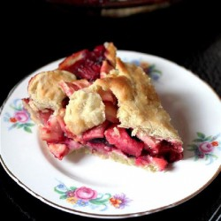 Appleberry Pie with Olive Oil Crust