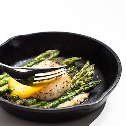Asparagus with Miso Butter