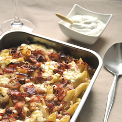 Bacon and Cheese Macaroni