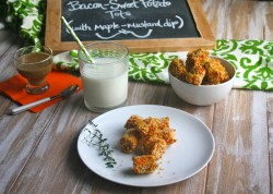 Bacon-Sweet Potato Tots