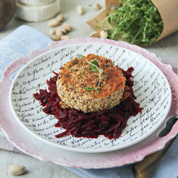 Baked Goat Cheese and Beets Recipe