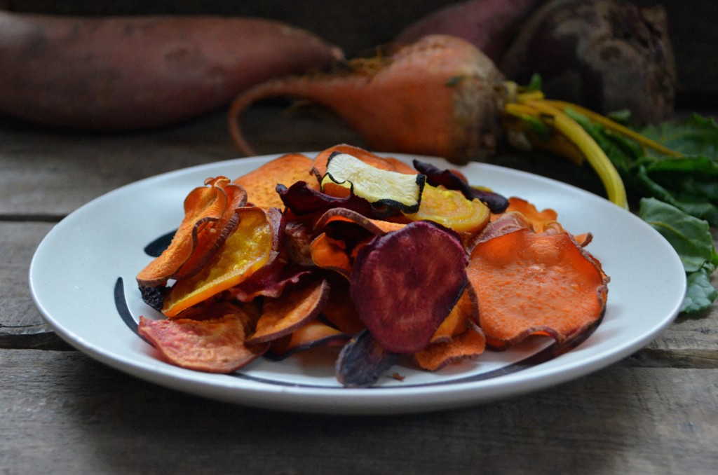 Baked Root Vegetable Chip Recipe