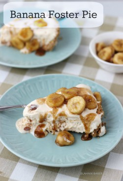 Banana Foster Pie