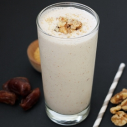 Banana Walnut Date Shake