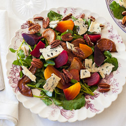 Beet Pear and Watercress Salad Recipe