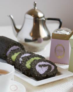 Black Sesame Cake Roll Recipe