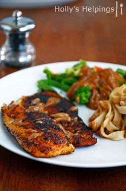 Blackened Spicy Tilapia