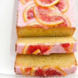 Blood Orange Loaf Cake
