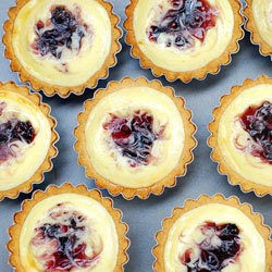 Blueberry Cheese Tarts Recipe