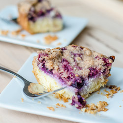 Blueberry Cream Cheese Coffee Cake Recipe