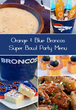 Broncos Super Bowl Party Recipes