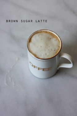 Brown Sugar Latte Recipe
